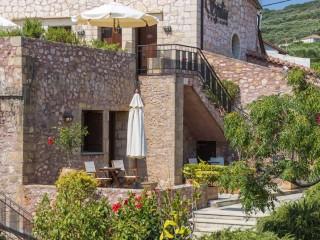 Balconies, terraces